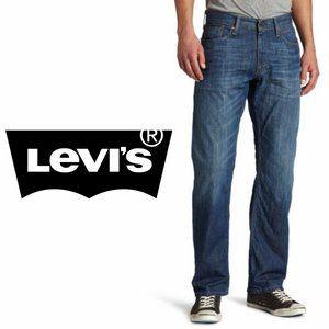 Levi's 514 Slim Straight - Dark Wash - 34W x 34L